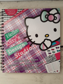 Hello kitty, wenskaarten knutselboek