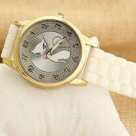 horloge cat