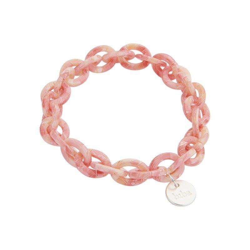 biba chain pink print