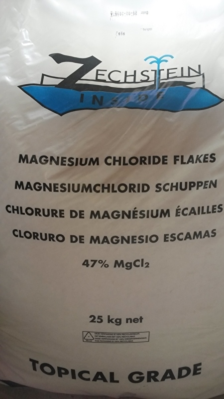 Magnesium Vlokken 25kg (grootverbruik)