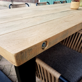 Buitentafel Thick Oak