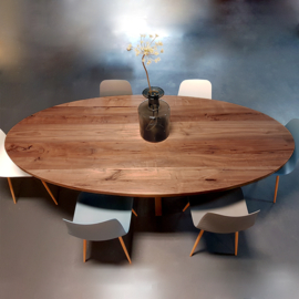 Eettafel Nuts Oval