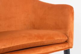 Eetkamerstoel Velvet Orange