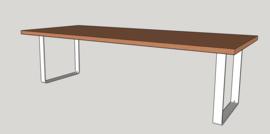 Eettafel Oak Ovaal (120 cm breed)