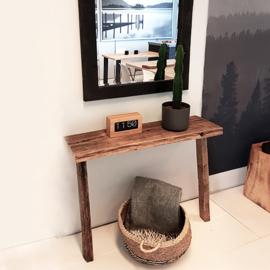 Sidetable Ruig (all wood)