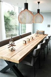 Eettafel Timber