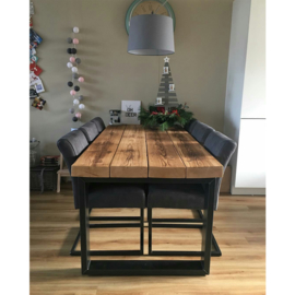 Eettafel Timber (5 balken breed)
