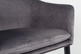 Eetkamerstoel Velvet Grey