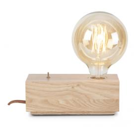 Table lamp ash wood