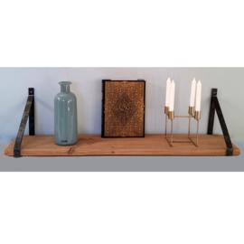 Stalen plankdragers (voor planken van 3-4 cm dik) als set van 2 stuks