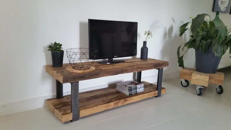 Set van 2 frames Tv-meubel