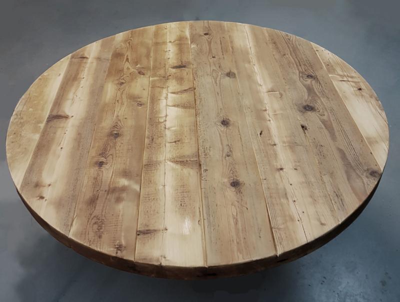 Eettafel Lumber Rond