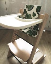 Kinderstoel kussenset 'Bladeren'
