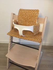 Afneembare stof - Kinderstoel kussenset