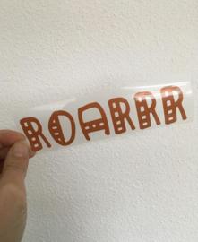 Roarrr strijkapplicatie