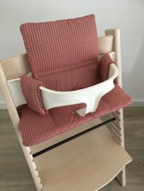 Kinderstoel kussenset 'Terra-rood'