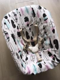 Newborn 'Veer gekleurd'