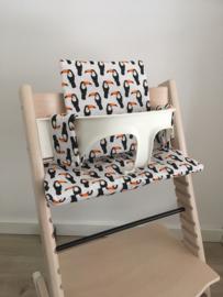 Kinderstoel kussenset 'Toekan'