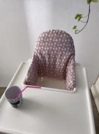 Ikea kussenset Pink drops