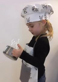 Koksmuts (en keukendoekje)
