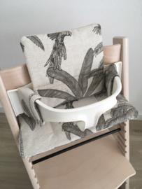 Kinderstoel kussenset 'Palmen'