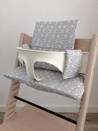 Kinderstoel kussenset 'Zwanen'