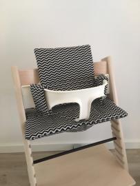 Kinderstoel kussenset 'Zigzag'