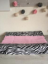 Aankleed kussenhoes 'Zebra Pink'