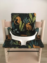 Kinderstoel kussenset 'Jungle'