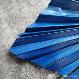 Palm Metallic Royal Blue