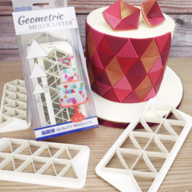 PME Geometric Multicutter Triangle set 3 st