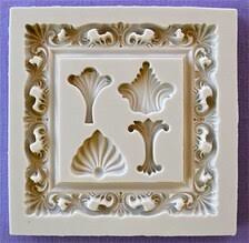 Square Baroque Frame (Alphabet Moulds)