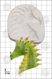 FPC Dragon Head (drakenhoofd) silicone mould