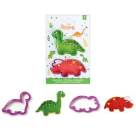 Dino cutter set 2 st