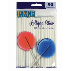 PME cake pop sticks - 11.5 cm - 50 pcs