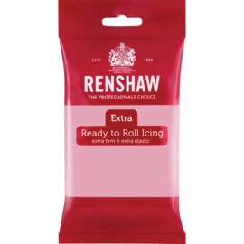 Renshaw Extra Pink rolfondant 250 gr