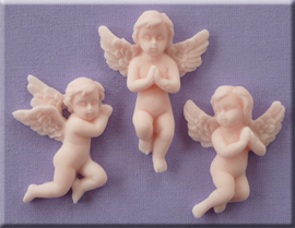 Cherubs small (praying) - Alphabet moulds
