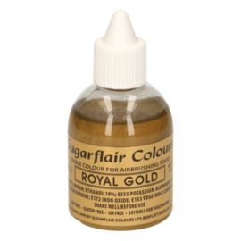 Sugarflair Airbrush Royal Gold - 60 ml