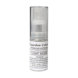 Sugarflair Pump Spray Light Silver