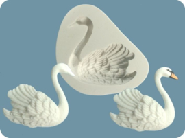 FPC Swan (right) silicone mould