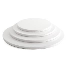 Cake drum Wit rond 30 cm