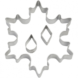 Wilton cookie cutter snowflake