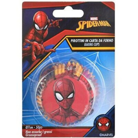 Spiderman Baking Cups - 50 st