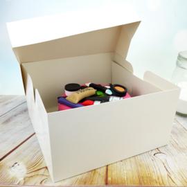 Boîte à gâteau haute 23 x 23 x 15 cm par 10 pcs
