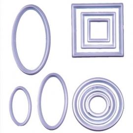 FMM Geometric cutter set 10 st