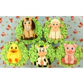Farm animals by Karen Davies mould