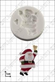 siliconen mal - ringing bell santa-