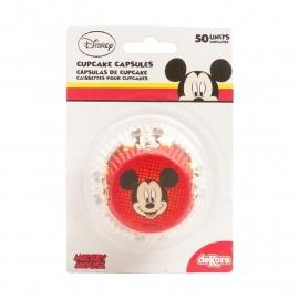 Cupcakepapiertjes Mickey Mouse