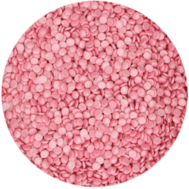 Mini Confetti Metallic Pink - 70 gr