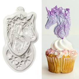 Mini Unicorn mould by Katy Sue